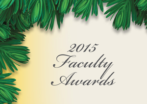 Annual Faculty Awards 2015