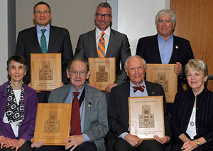 alumni and philanthropy awards winners