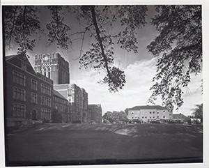 Old Picutre of Ayres Hall