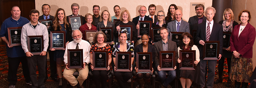 2016 Faculty Award Winners