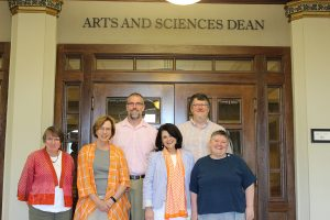 Chancellor Davenport and college Deans